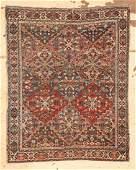 "Antique Afshar Rug: 3' x 3'8"" (91 x 112 cm)"
