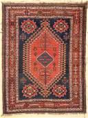 """Antique Gashgai Rug: 5'6"""" x 7'2"""" (168 x 218 cm)"""