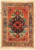 Azeri Heriz Rug 49 x 66 145 x 198 cm