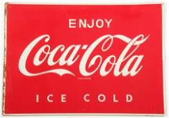 Vintage Coke Advertising Sign