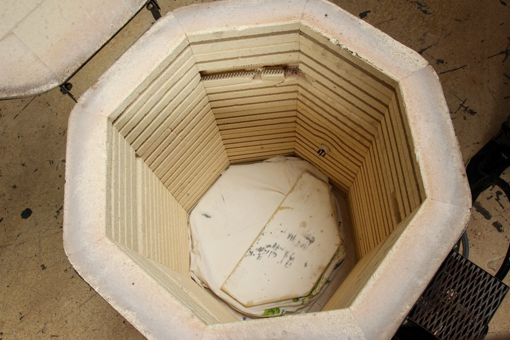 Paragon Pottery Kiln and North Star Slab Roller - 4