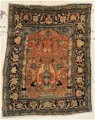 Antique Tabriz Prayer Rug 47 x 57 140 x 170 cm