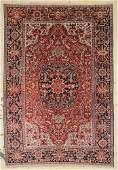 "Antique Heriz Rug: 8' x 11'7"" (244 x 353 cm)"