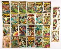 Collectors Lot of 27 Vintage Marvel and DC Comics