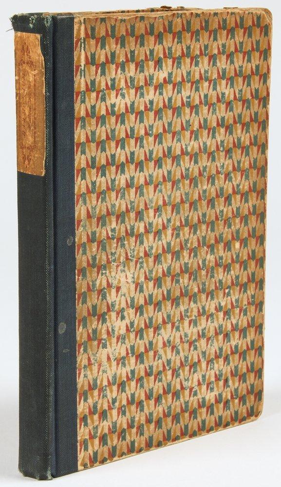 Wallace Stevens, Harmonium, First Edition, 1923