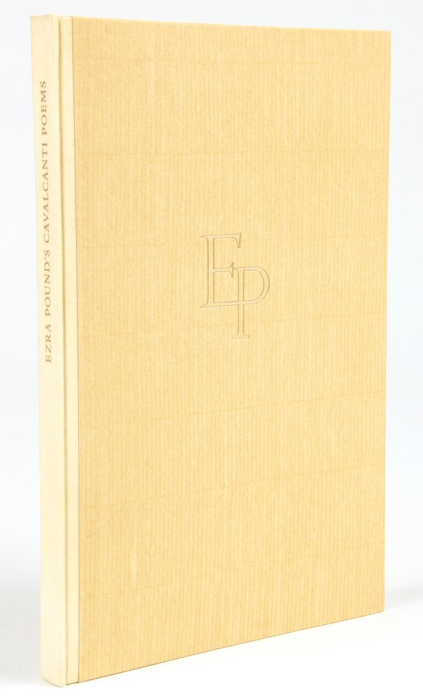 Ezra Pound, Cavalcanti Poems, Signed and Numbered