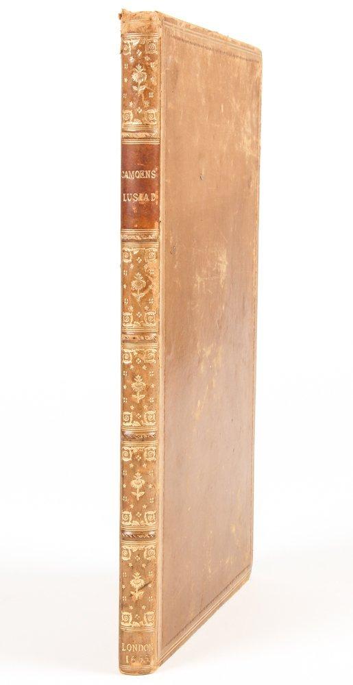 The Lusiad, Luis de Camoens; Richard Fanshaw, 1655