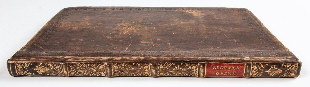 John Gay. Beggar's Opera Libretto Dated 1729