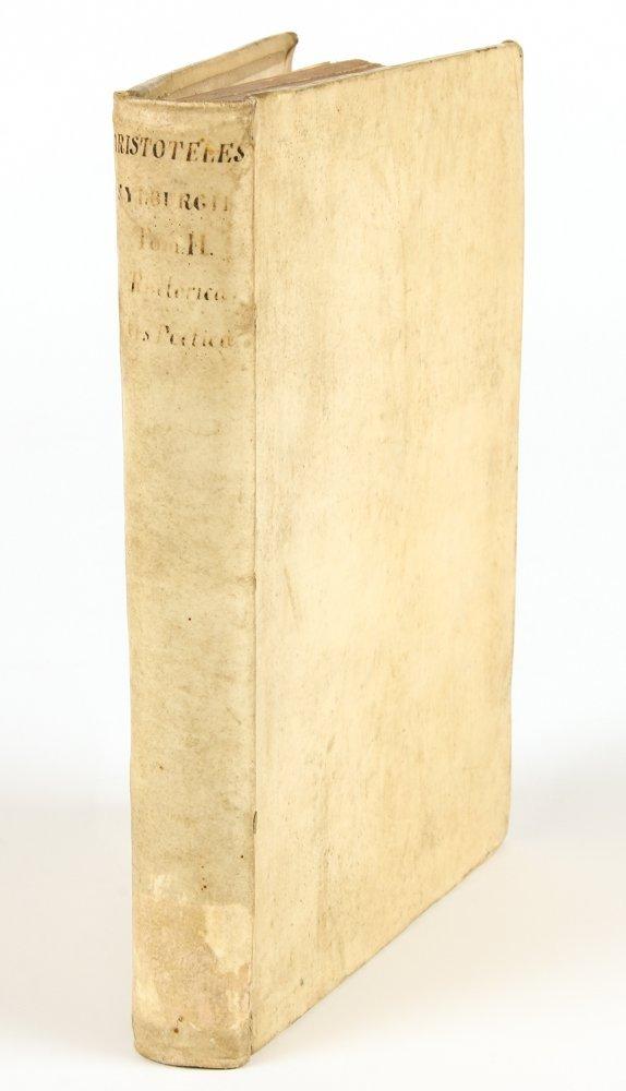 16th C Aristotle Poetics in Greek and Latin
