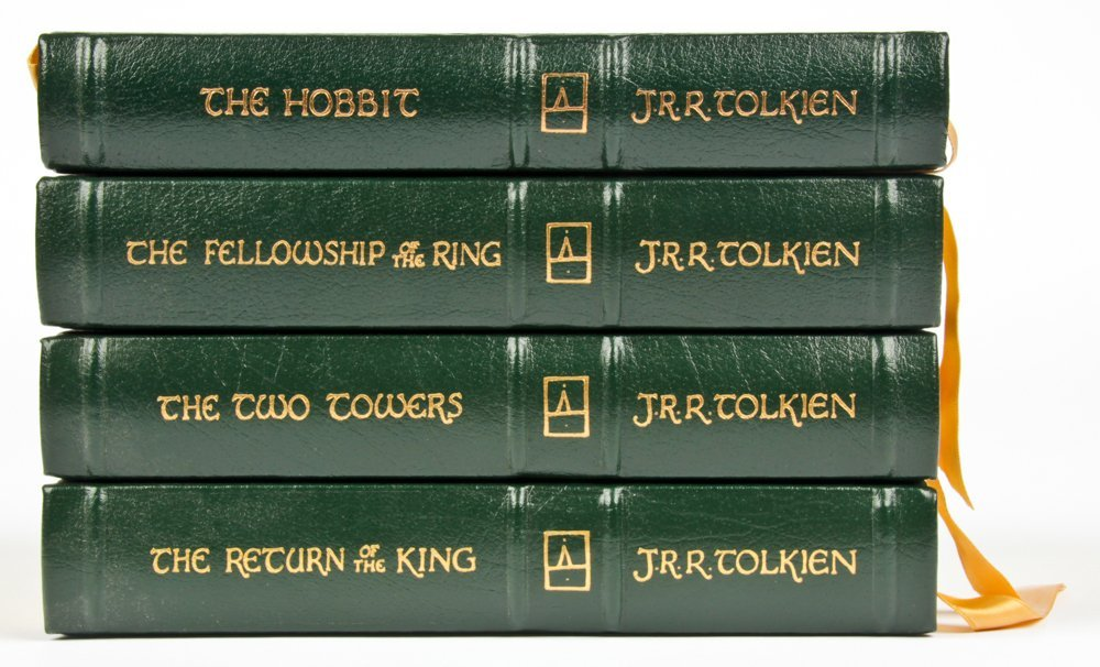 Easton Press JRR Tolkien Lord of The Rings Trilogy with