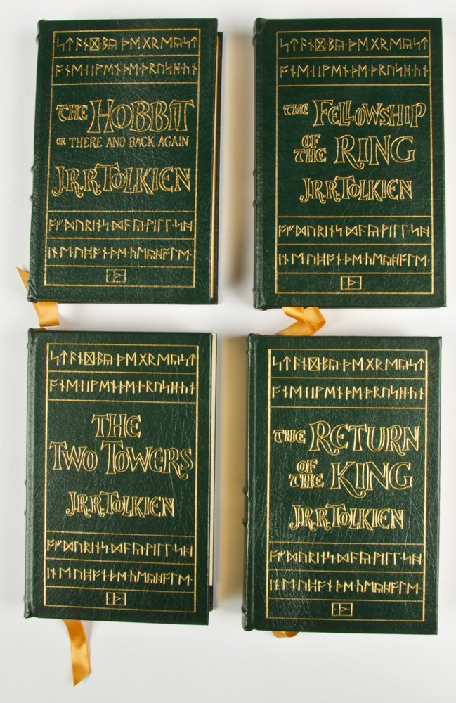 Easton Press JRR Tolkien Lord of The Rings Trilogy with - 2