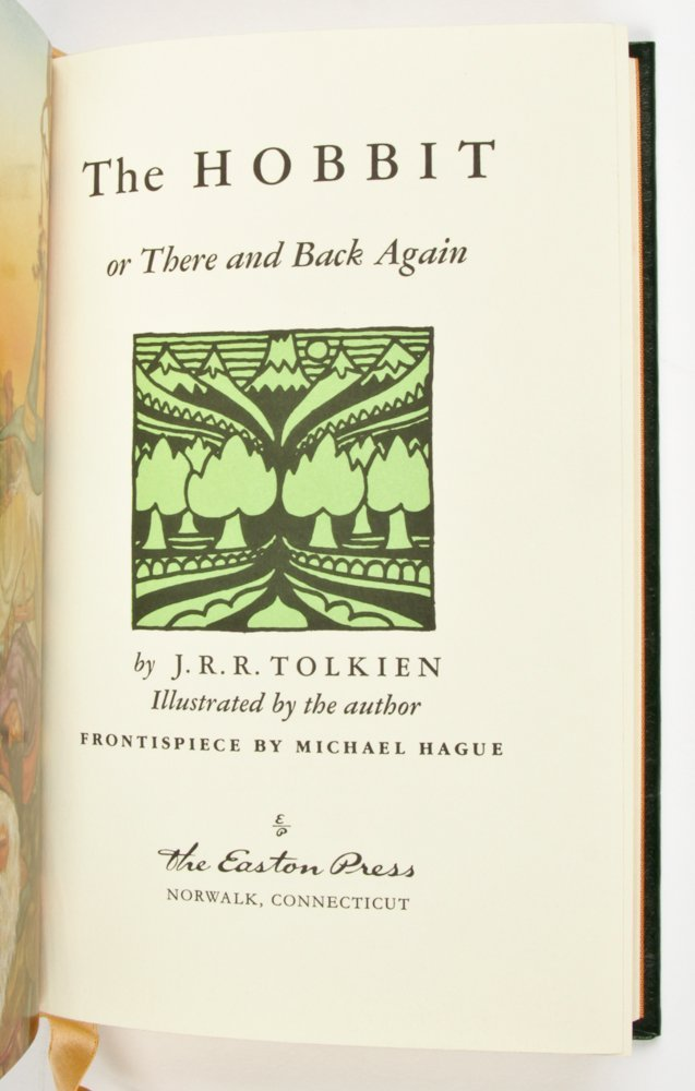 Easton Press JRR Tolkien Lord of The Rings Trilogy with - 3