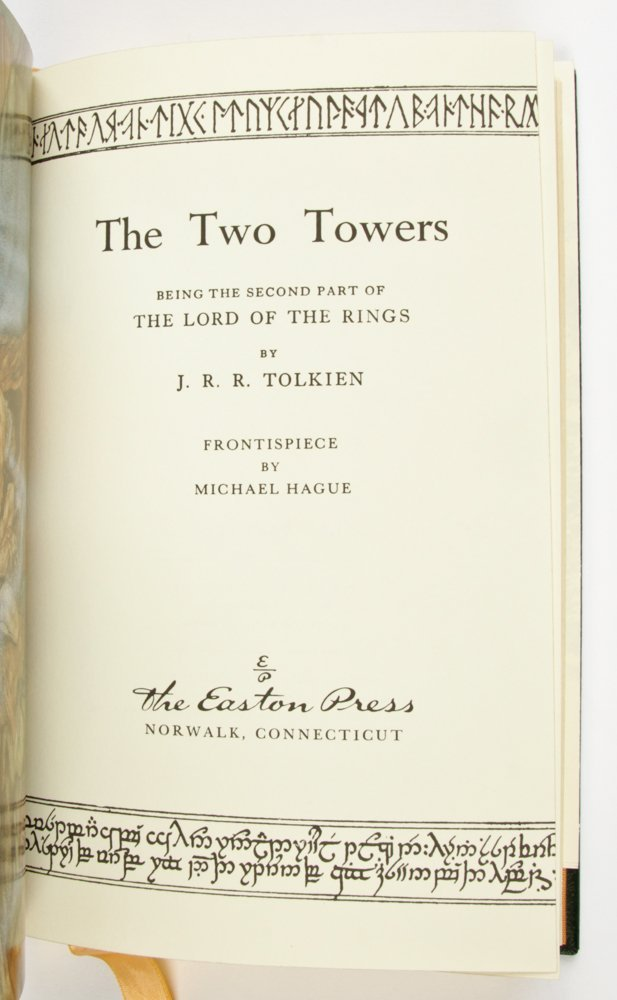 Easton Press JRR Tolkien Lord of The Rings Trilogy with - 7