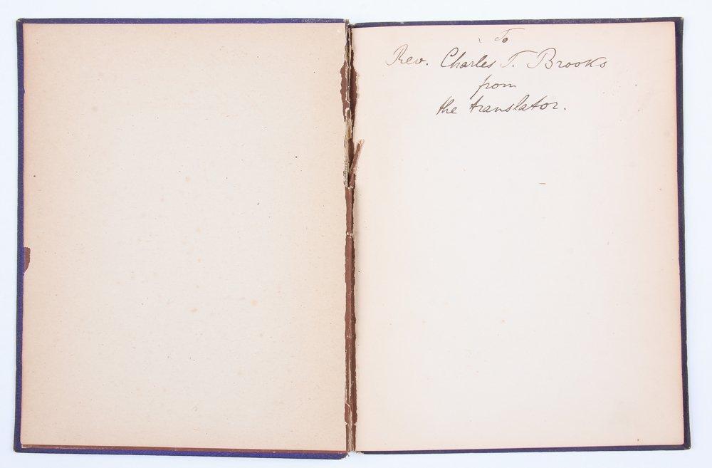 Rare 1876 Goethe's Roman Elegies - 2
