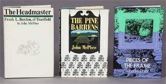 John McPhee: Group of 3 Books