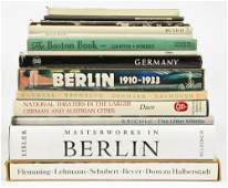 Group of 15 coffee table books