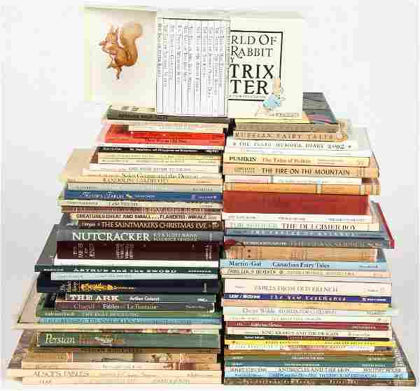 Group of 71 Books including Fairy Tales, Fables and