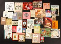 Group of 37 Cat Theme Books.