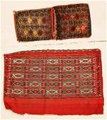 2 Antique Trappings, Chuval and Saddlebag