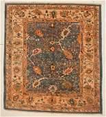 Oushak Rug: 9' x 9' (274 x 274 cm)