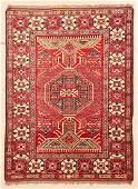 "Afghan Rug: 5'1"" x 6'10"" (155 x 208 cm)"