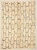 "Modern Moroccan Rug: 7' x 9'7"" (213 x 292 cm)"