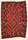 """Afghan Maimana Kilim 7'4"""" x 10'3"""" (224 x 312 cm)"""