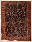 "Antique Mahal Rug: 8'11"" x 11'7"" (272 x 353 cm)"