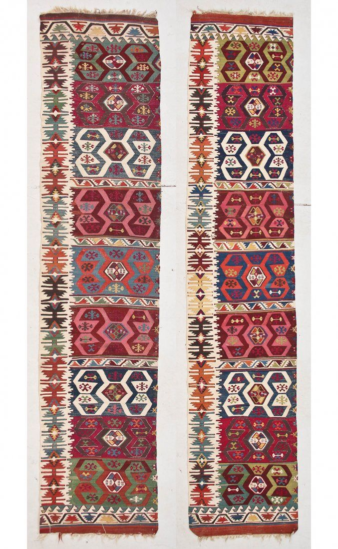 Antique East Anatolian Kilim, 2 Panels