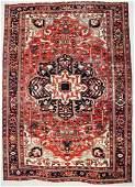 "Antique Heriz Rug: 9'10"" x 13'10"" (300 x 422 cm)"