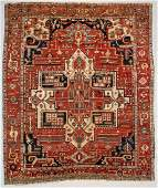 "Antique Serapi: 10'3 x 12'2"" (312 x 371 cm)"