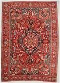 "Antique Mansion-Size Serapi Rug: 13' x 18'8"" (396 x 569"