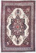 """Antique Lavar Kerman Rug: 9' x 13'4"""" (274 x 406 cm)"""