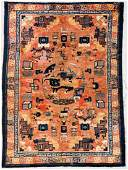 Antique Chinese Rug 57 x 78 170 x 234 cm