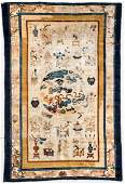 Antique Chinese Rug 4 x 6 122 x 183 cm