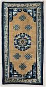 Antique Chinese Rug 3 x 6 91 x 183 cm