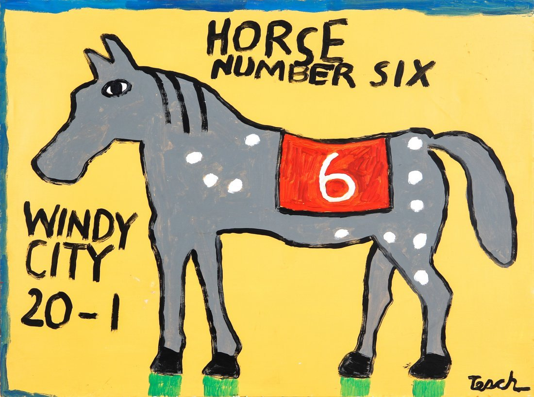 Mike Tesch (20th c.) Horse Number Six