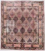 """Antique Lavar Kerman Rug: 9'10"""" x 11'2"""" (300 x 340 cm)"""