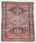 "Antique Soumak Rug: 5'5"" x 6'9"" (165 x 206 cm)"