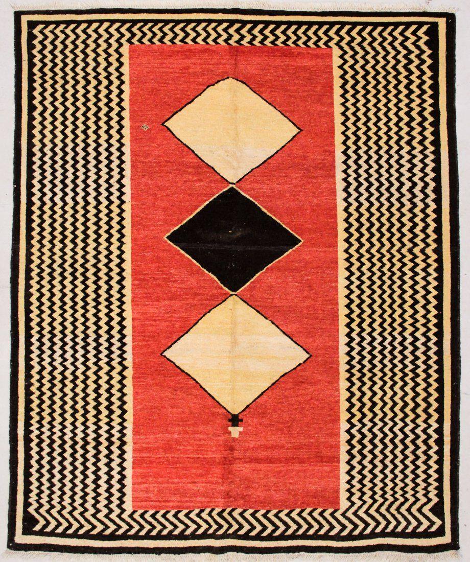 """Turkish Village Rug: 7'10"""" x 9'6"""" (239 x 290 cm)"""
