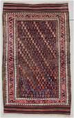 """Antique Beluch Rug: 2'11"""" x 4'8"""" (89 x 142 cm)"""