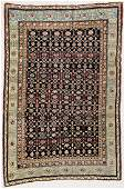 "Antique Caucasian Rug: 4'6"" x 6'7"" (137 x 201 cm)"