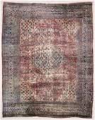 "Antique Mansion-Size Dorokhsh Rug: 13' x 16'2"""