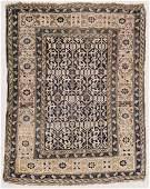 "Antique Kuba Rug: 3'8"" x 4'10"" (112 x 147 cm)"
