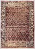 "Antique Dorokhsh Rug: 9'4"" x 13'3"" (112 x 404 cm)"