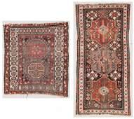2 Antique Caucasian Rugs