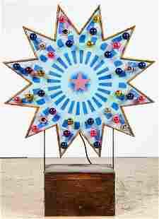 Carnival Midway Flashing Starburst