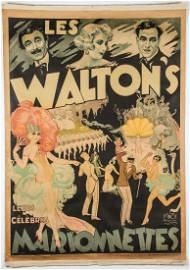 "Emile Finot (French, b. 1910), ""Les Waltons"