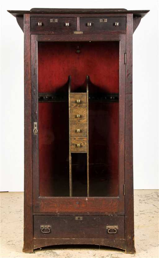 - Arts And Crafts Yeager Gun Cabinet