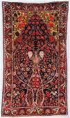 Antique Baktiari Rug 55 x 97 165 x 292 cm